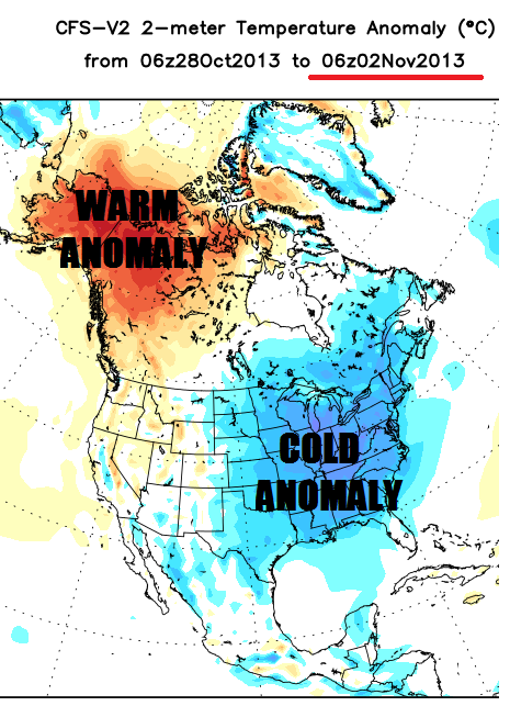 Cold anomaly